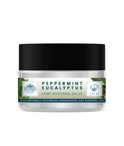 CBD Body Balm Peppermint Eucalyptus Soothing Salve 150mg - Assuage Hemp CBD Products