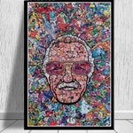 """Stan the Man"" Canvas Wallart"