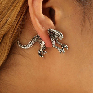 1 Pair Xenomorph Earrings