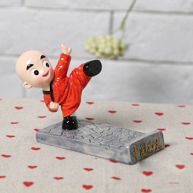 Kungfu Monk Phone Holder