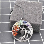 Owl-Tree of Life Necklace