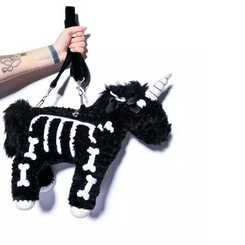 Dark Punk Unicorn Handbag