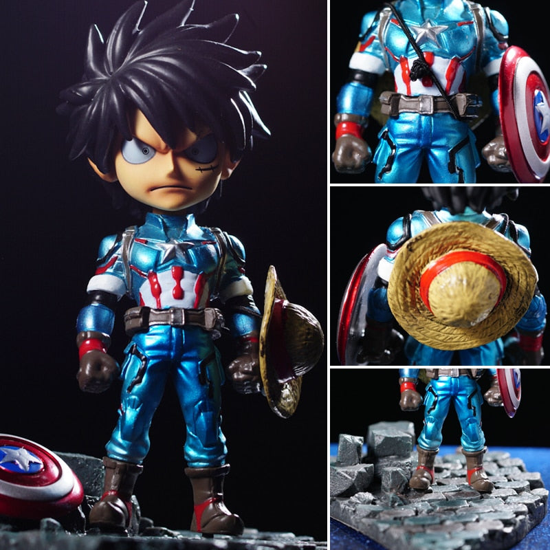 Captain x Anime Pirate Boy Figure