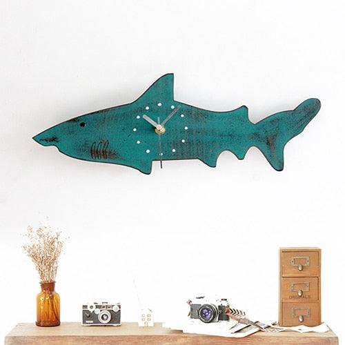 Luxury Shark Wall Clock