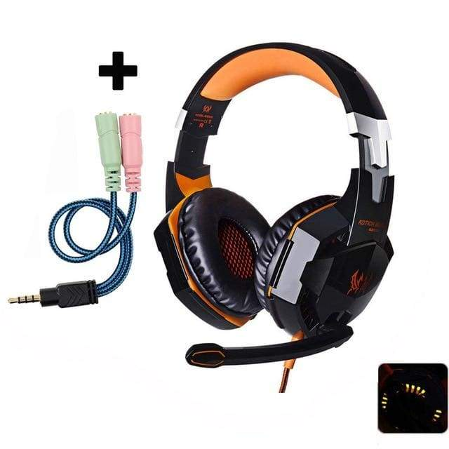 Gaming Headset with Mic for PC PS4 Xbox