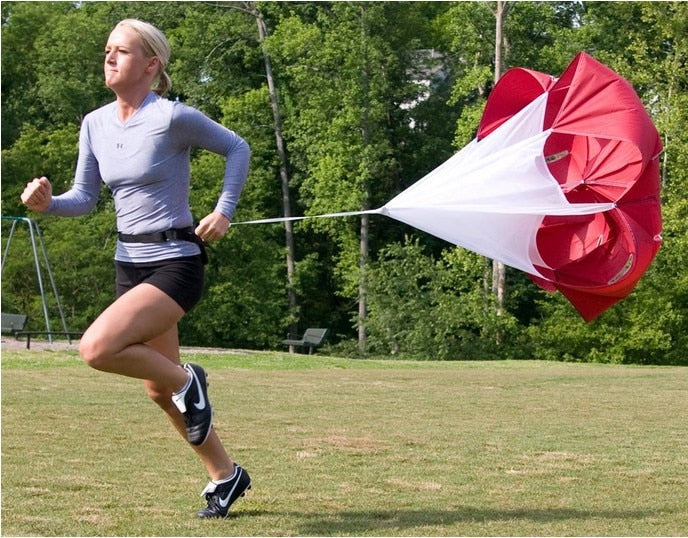 Speed Training Drills Resistance Parachute