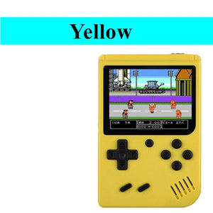 Video Game Console 8 Bit Retro Mini Pocket Handheld Game Player Built-in 168 Classic Games Best Gift for Child Nostalgic Player