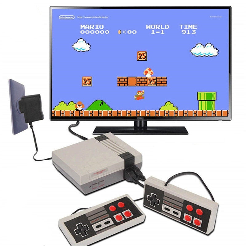 Mini TV Game Console 8 Bit Retro Video Game Console Built-In 620 Games Handheld Gaming Player Best Gift