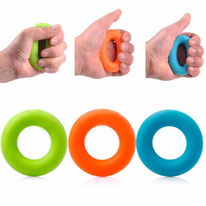 3Pcs 7cm Diameter Hand Grip Strengthener Exercisers