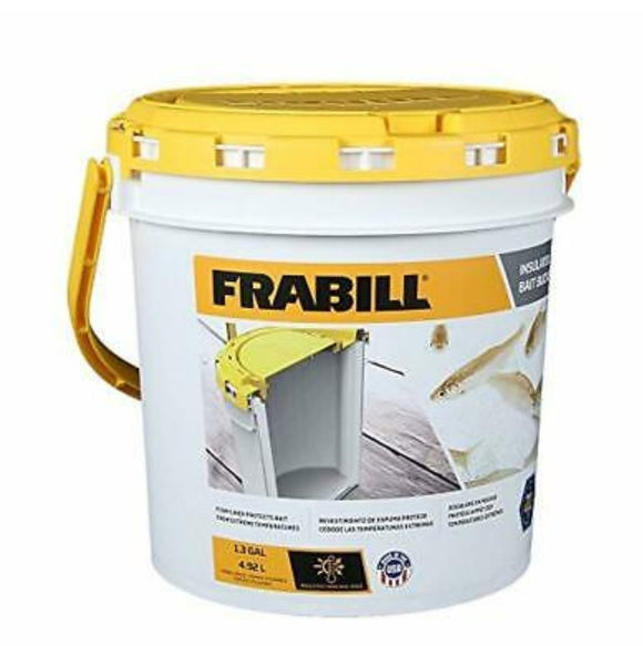 Frabill 8Qt Insulated Bait Bucket