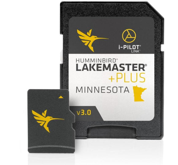 Humminbird Lakemaster Digital Maps - Minnesota Plus