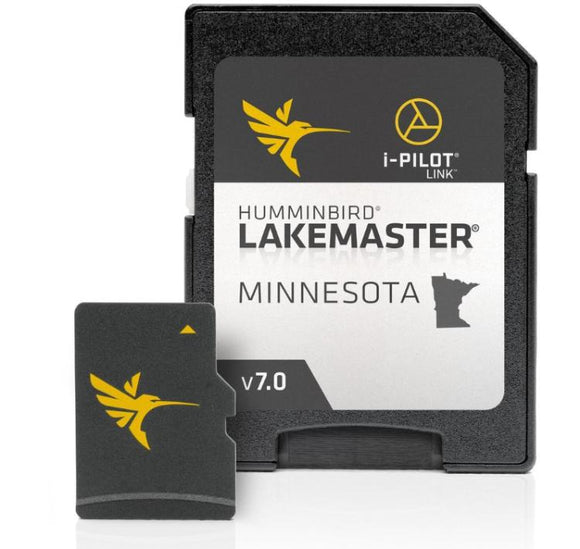 Humminbird Lakemaster Digital Maps - Minnesota