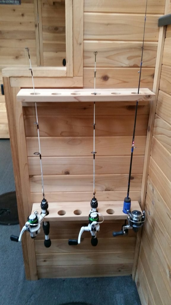 K&S Cedar Rod Holders