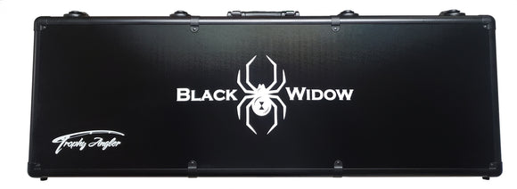 Trophy Angler Black Widow Hard-Sided Ice Rod Case