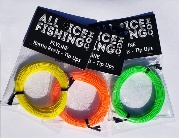 Rattle Reel Fly Line