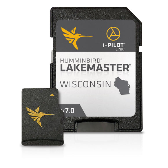 Humminbird Lakemaster Digital Maps - Wisconsin