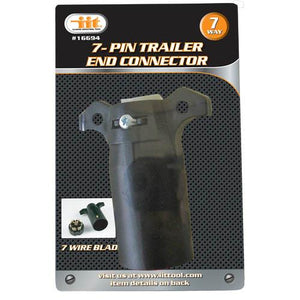 7 Way Female Trailer End Connector