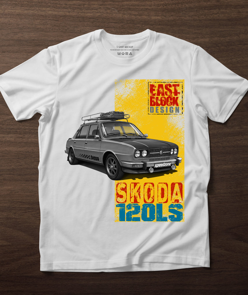 Skoda 120LS East Block Design II. póló