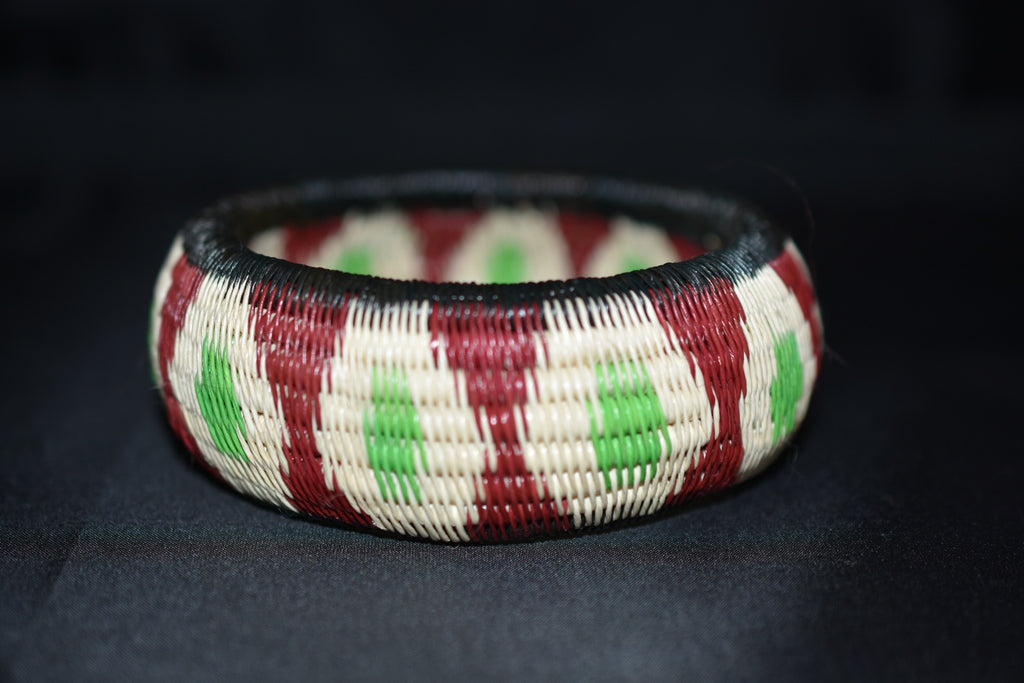 Werregue Bracelets - Red-Green-Beige