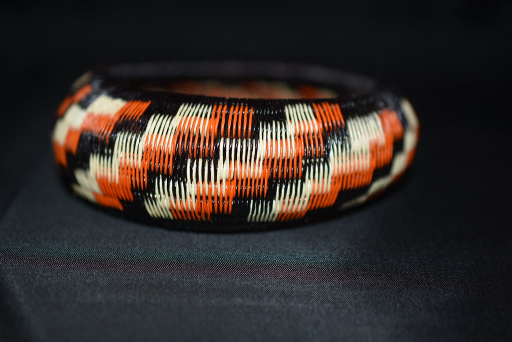 Werregue Bracelets - Black -Orange-Beige