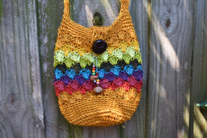Hemp and Tagua Bag