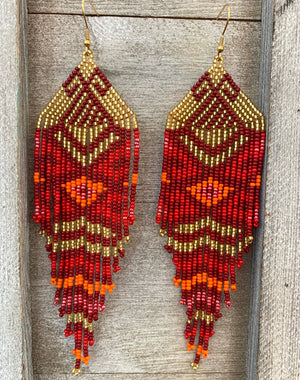 Embera Earrings - Embera Symbology