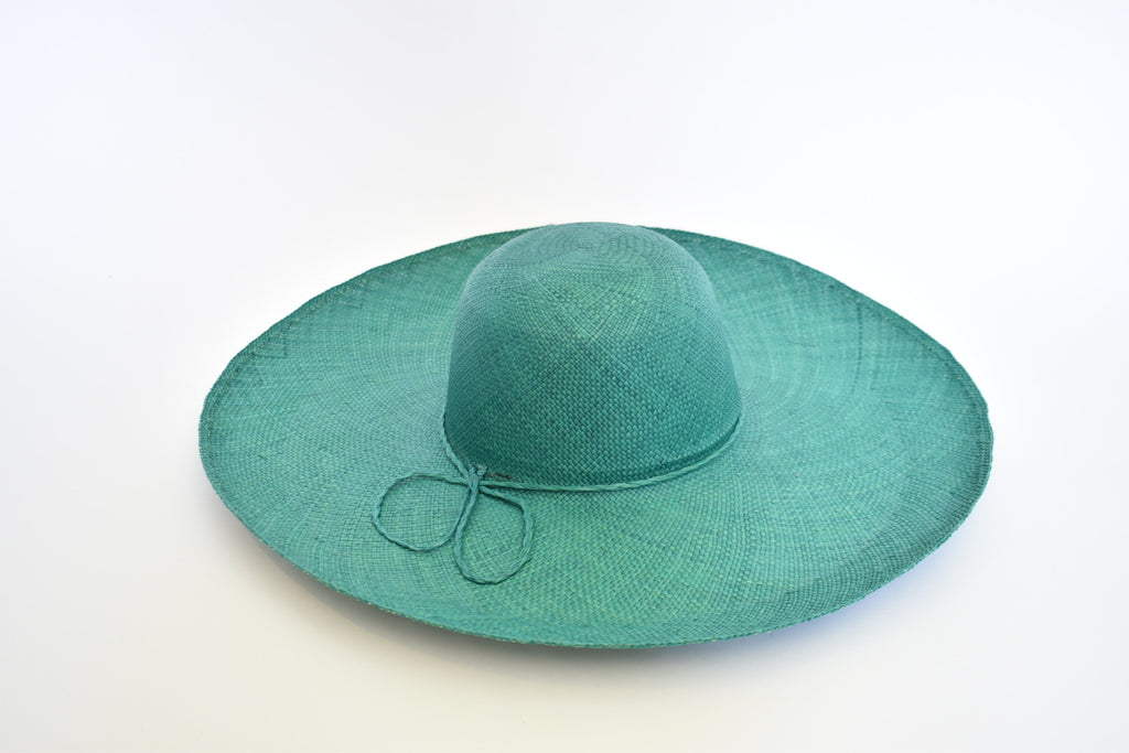 Toquilla Straw Beach Hat - Menta