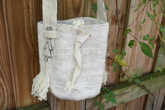 Guambiano Bag - White- Small