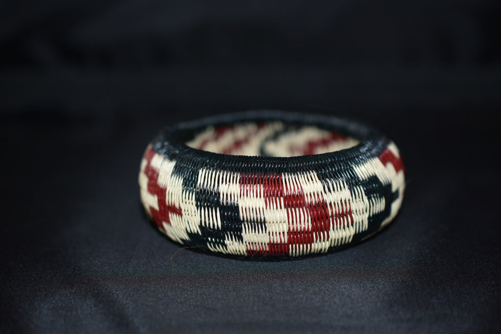 Werregue Bracelets - Black-Red-Beige