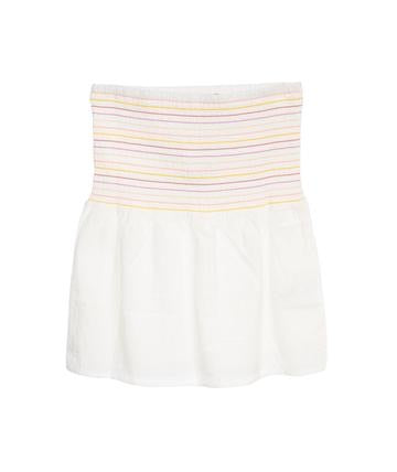 FAS Rouched Striped Skirt