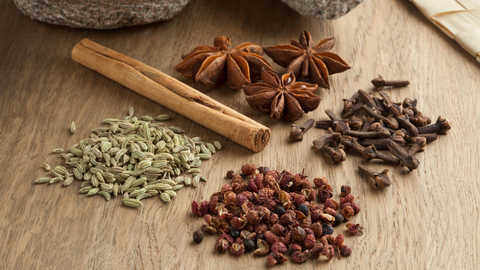 spices from the silk road