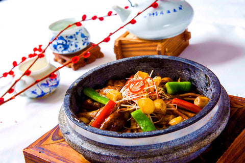 freshwater eels braised with vegetables dragon boat festival food