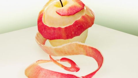 apple with peel