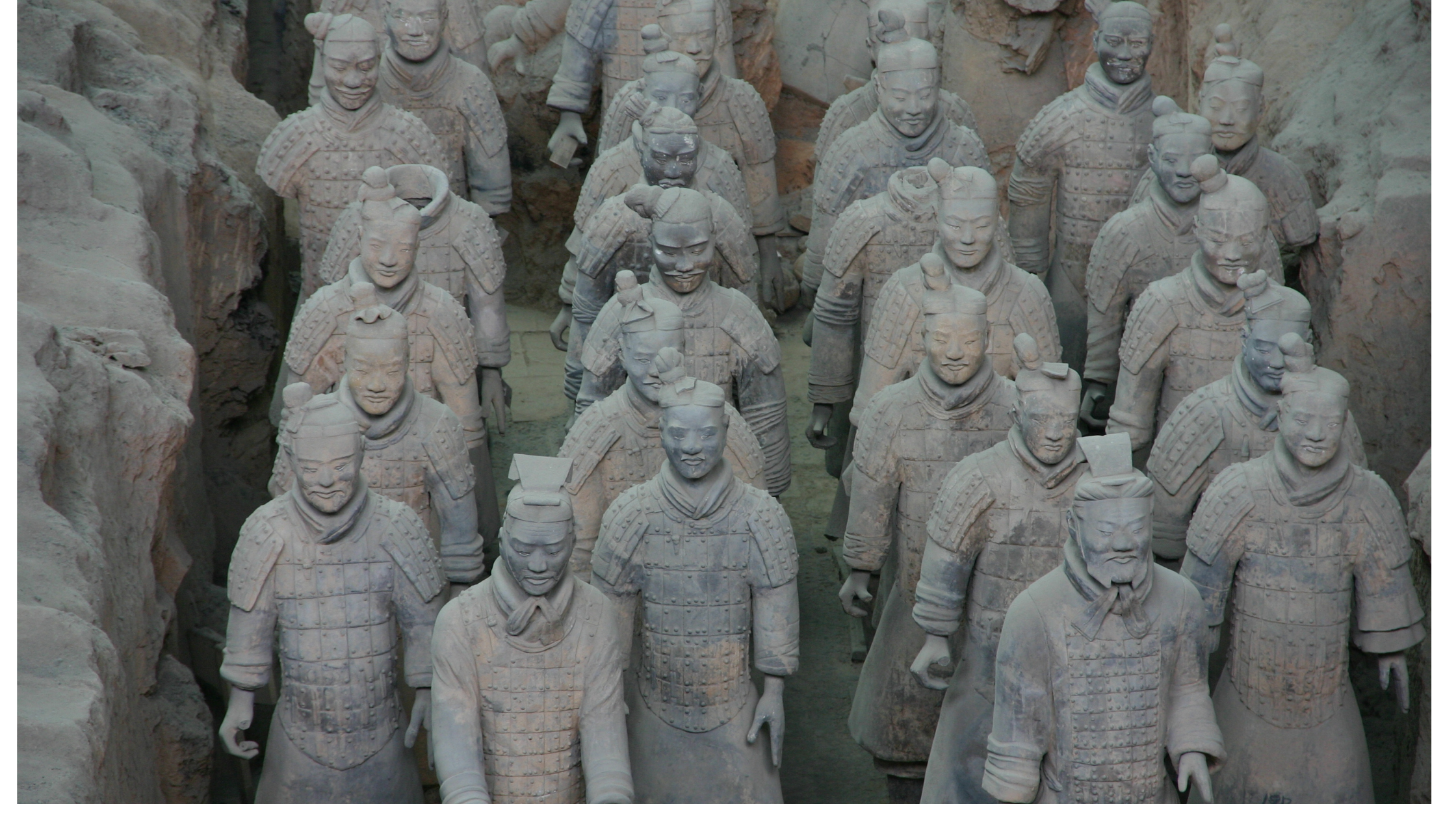 An Army of Terra Cotta Soldiers