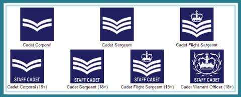 Cadet Non-commissioned Officer (NCO) ranks