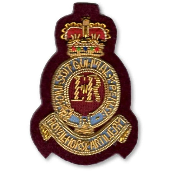 7th Royal Horse Artillery Officer' Beret Badge | Ammo & Company | Headdress Badges