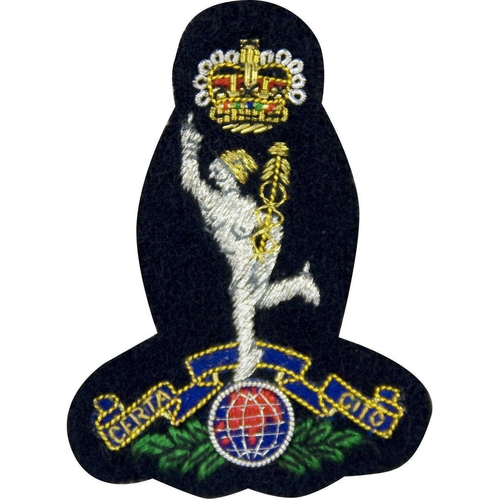 Royal Corps of Signals Embroidered Badge-Headdress Badges-Ammo & Company-Red-Cadet Kit Shop