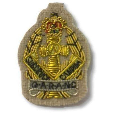 QARANC Officers' Embroidered Beret Badge