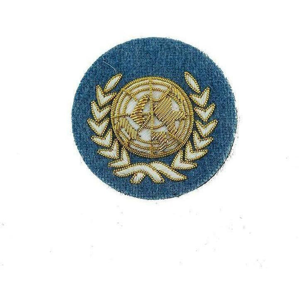 UN Officers' Embroidered Beret Badge