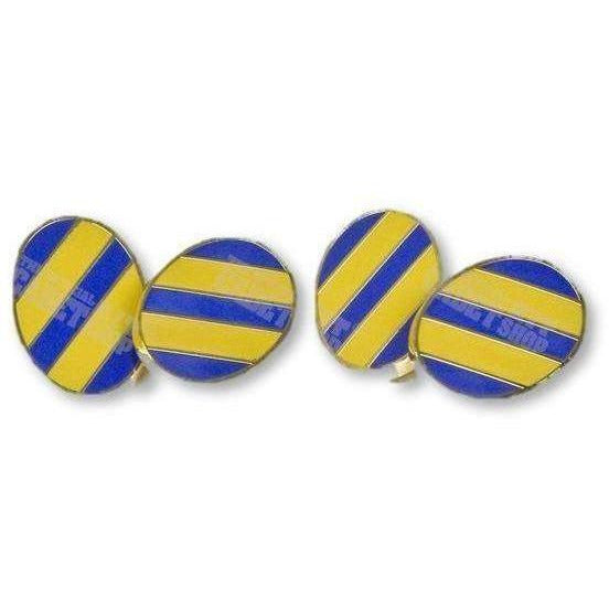 Army Cadet Force (ACF) Striped Hand Enameled Cufflinks | Official Cadet Kit Shop | Clearance