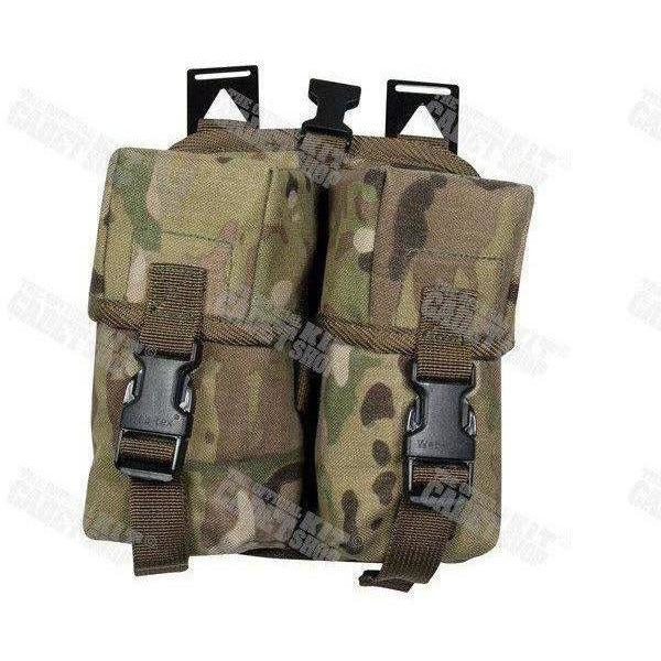 MULTICAM Cordura Double Ammo Pouch-Clearance-Official Cadet Kit Shop-Cadet Kit Shop