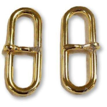 "1 ¾"" Gilt Side Buckle 