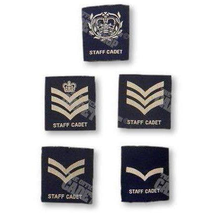 RAFAC Staff Cadet Rank Slides