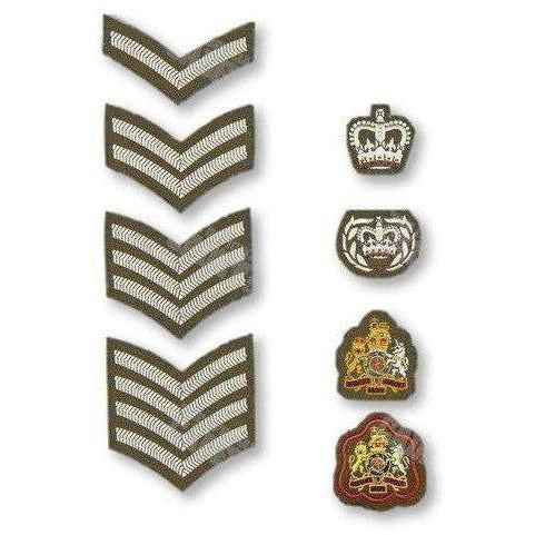 Army No2 Dress Rank Insignia | Ammo & Company | Embroidered Badges