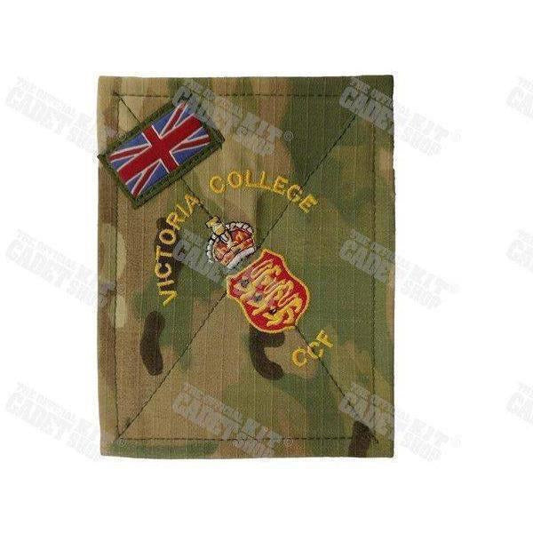 Customised British Forces PCS Blanking Plate with Sewn County / Contingent Flash