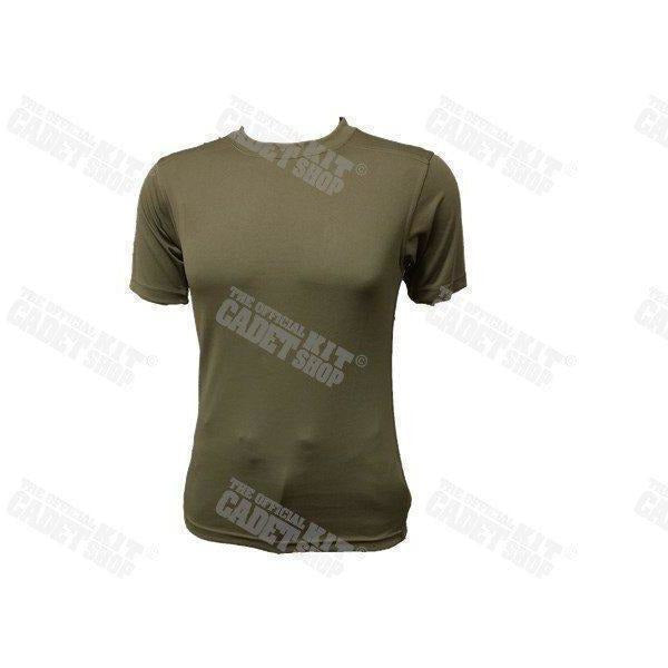 Genuine Issue Olive Green Unisex Coolmax T-Shirt