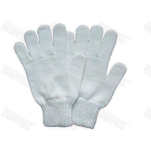 Mercerised Knitted Cotton Gloves
