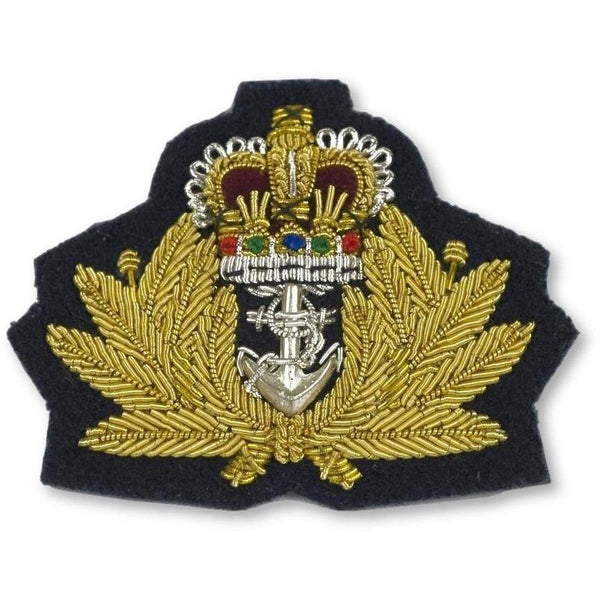 Royal Navy Officers Beret Badge
