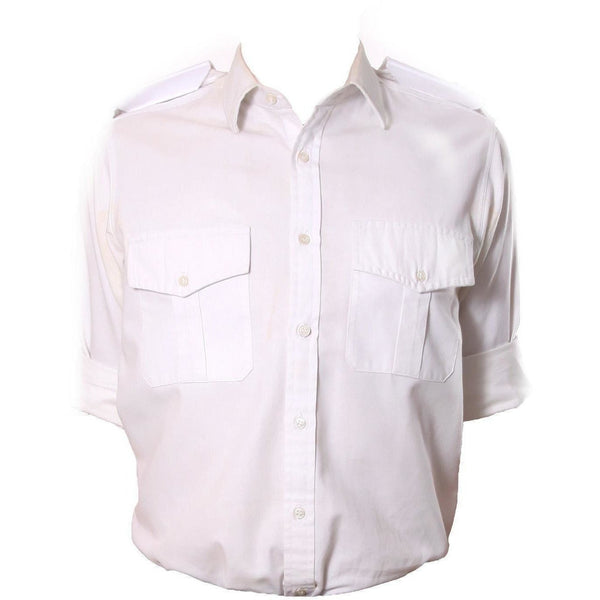 Male Officers Pattern Dress Shirt