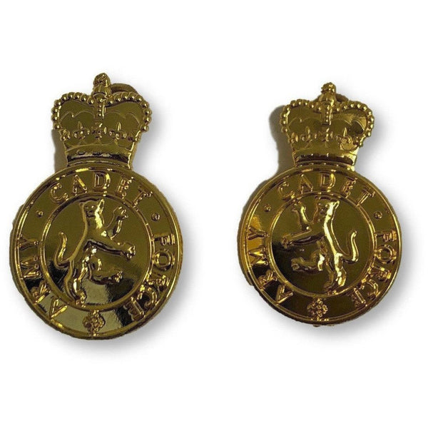 ACF No 1 Dress Collar Badges | Cadet Kit Shop | Uniform Clothing & Accessories